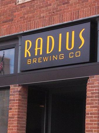 Radius Brewing Company : Beautiful building