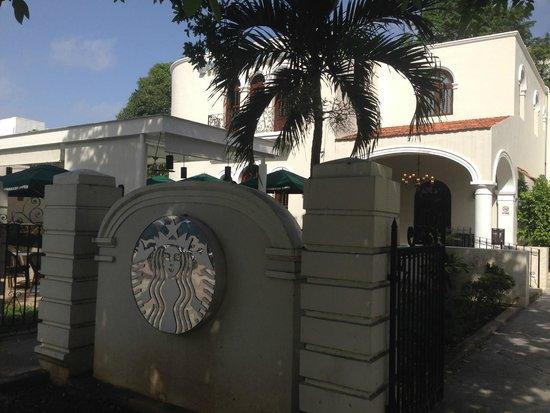 Paseo de Montejo, Merida Mexico Starbucks / Sisal Mexico Visit