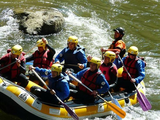 Pyrene Rafting: Sheer Enjoyment