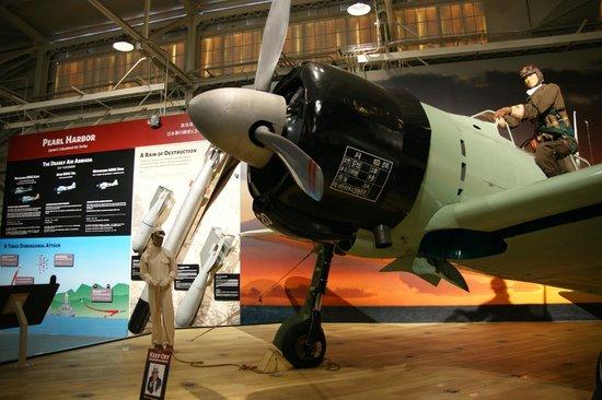 Pacific Aviation Museum Pearl Harbor : Aviones de la segunda guerra con toda la explicación