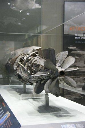 Pacific Aviation Museum Pearl Harbor : Partes de avión balaceado