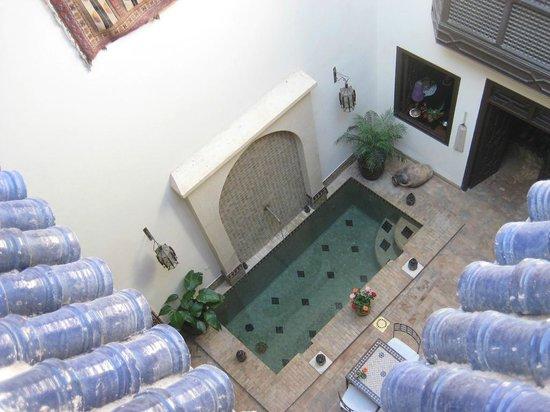Riad Aubrac : Terrace