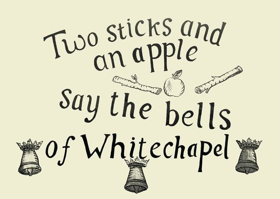 Whitechapel Bell Foundry: The nursery rhyme no one understands...