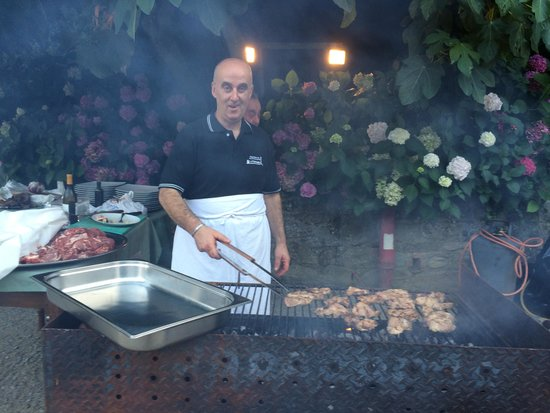 Residence La Ferriera: The big BBQ