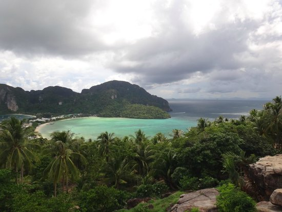 Phi Phi Andaman Legacy: vista do view point