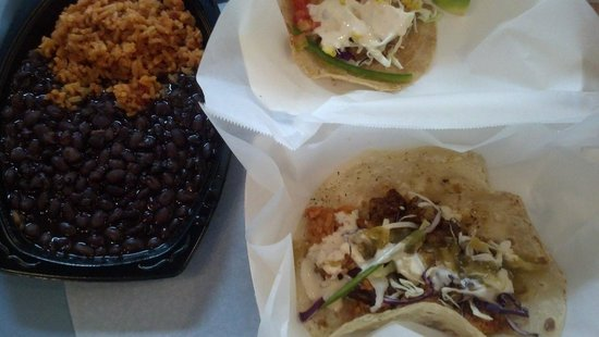Cali's Fresh Mexican: Street Taco Meal