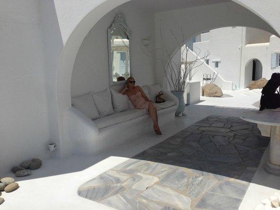 Mykonos Bay Hotel: Entrance