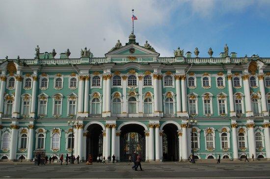 Eremitage und Winterpalais: Blick von Aussen