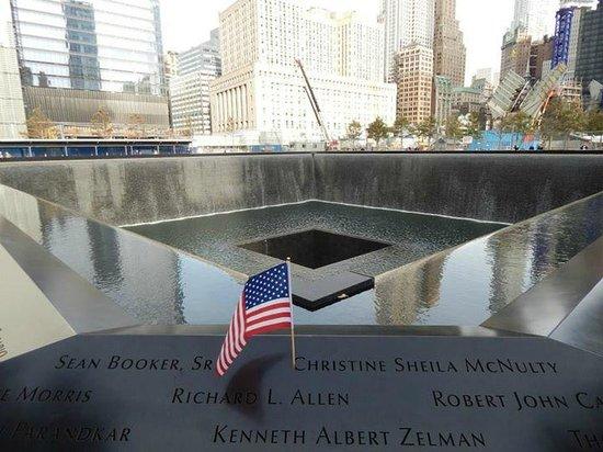 Mémorial du 11-Septembre : Uno de los piletones