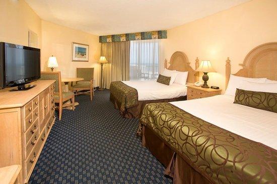 Ocean Breeze Club Hotel: Queen Double Ocean View