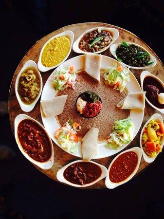 Messob Ethiopian Restaurant Los Angeles Central L A