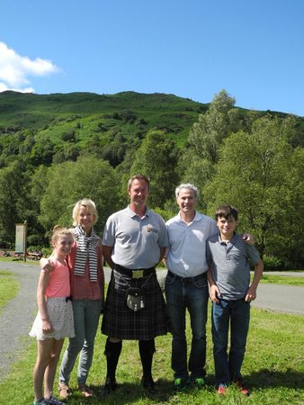 Discreet Scotland Day Tours : photo with Matthew