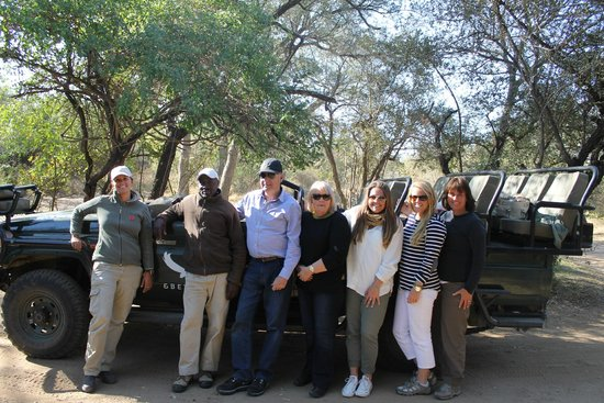 andBeyond Ngala Tented Camp: Our Group