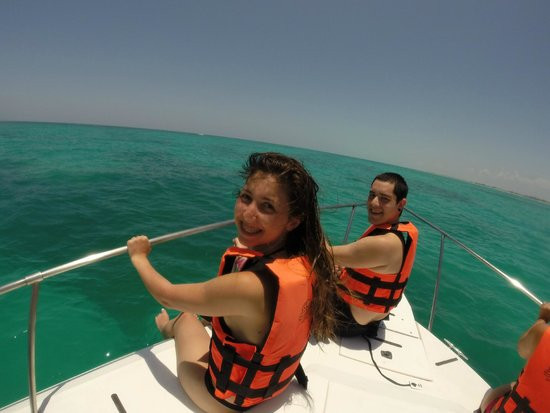 Ocean Tours: vijando en el barco