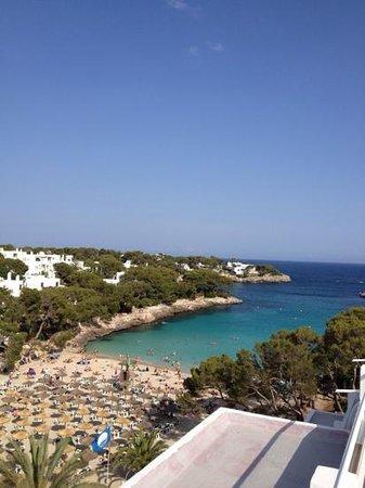 TUI SENSIMAR Rocador : Uitzicht vanaf onze kamer.