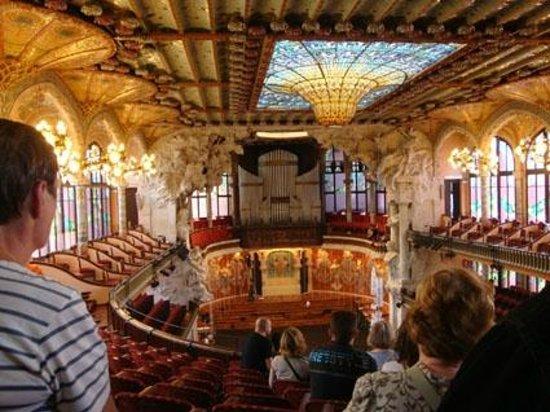 Palau de la Musica Orfeo Catala: Концертный зал