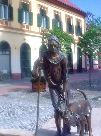 Szigetvar, Hungary: St Rokus and his dog
