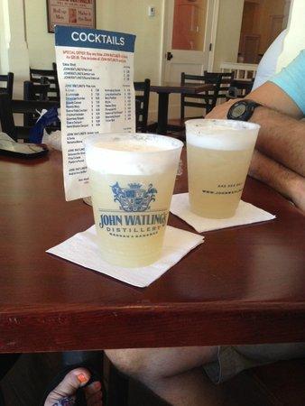 Islandz Tours - Cultural Walking Tours of Downtown Nassau: Rum Dums at John Watling's