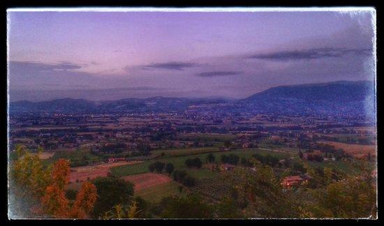 Il Poggio degli Olivi: Panorama con Assisi