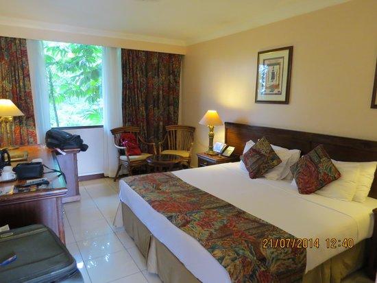 Jacaranda Nairobi Hotel: Our room in the hotel