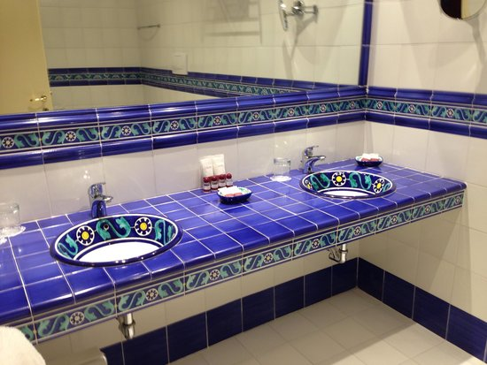 Grand Hotel Ritz : La salle de bain