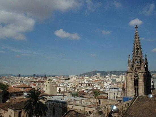 Barcelona Cathedral : Terrazza
