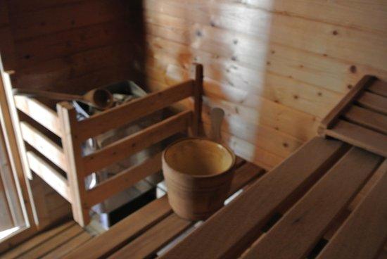 Hotel Le Vermont: Notre Sauna