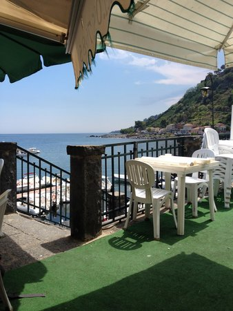 La Grotta: View from the table