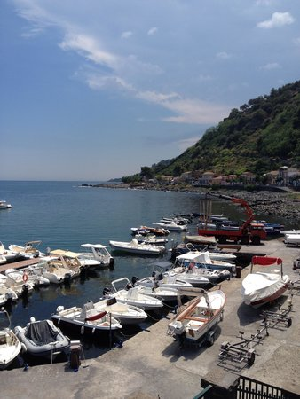 La Grotta: View from the restaurant