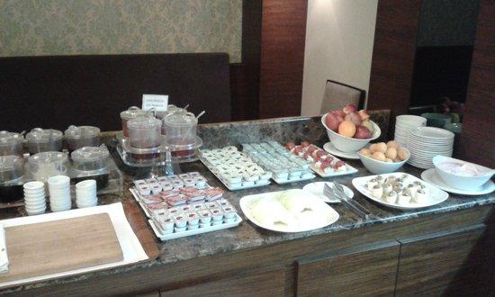 Eyuboglu Hotel: marmelade butter and fruit