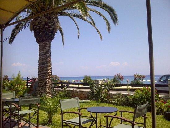Tara Beach Hotel: view from pool bar