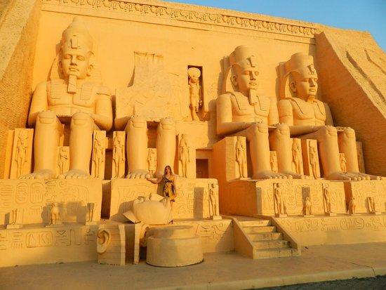 Mini Siam and Mini Europe: Египетские фараоны