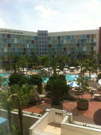 Universal's Cabana Bay Beach Resort: View from our window