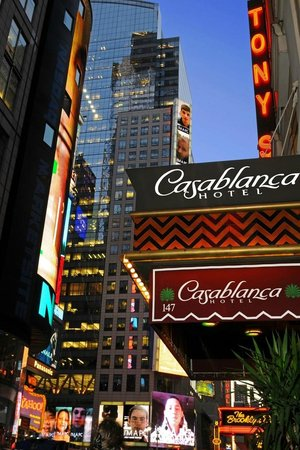Casablanca Hotel by Library Hotel Collection: Right by Times Square
