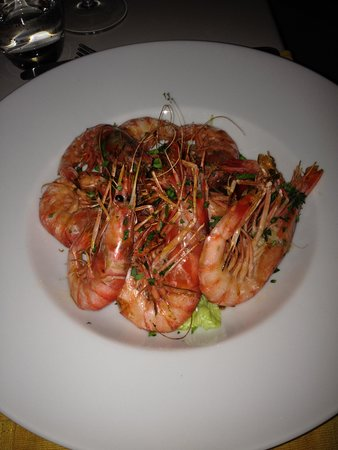 Osteria Nero D'avola : Grilled king prawns