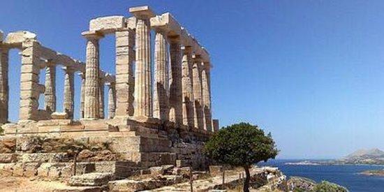 George's Taxi: Temple of Poseidon, Greece