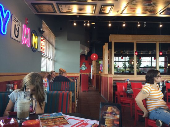 Remodeled Inside Picture Of Red Robin Gourmet Burgers