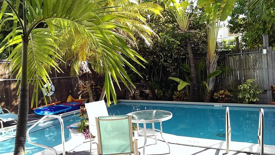 Marrero's Guest Mansion: Best part - the c/o pool!