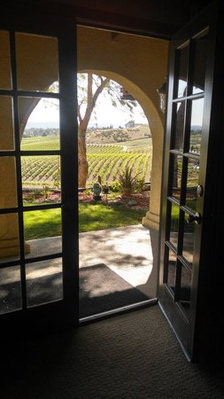 The INN at Europa Village: View from the Cabernet Sauvignon room