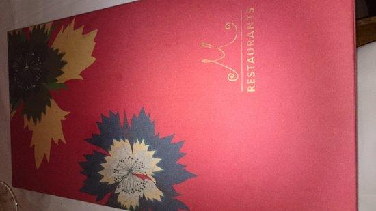 M on the Bund: Elegant menu