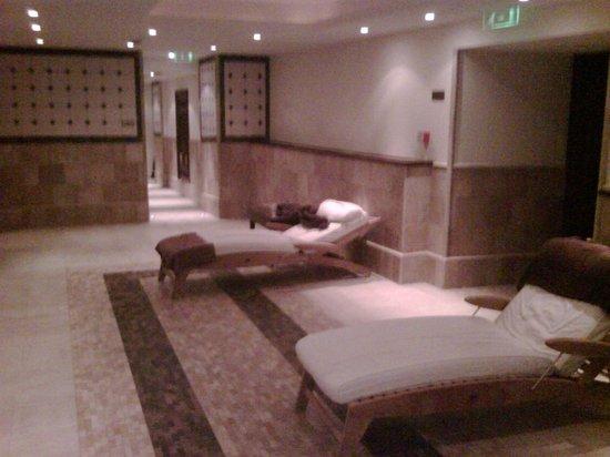 Corinthia Hotel Budapest: Resting at the hamam