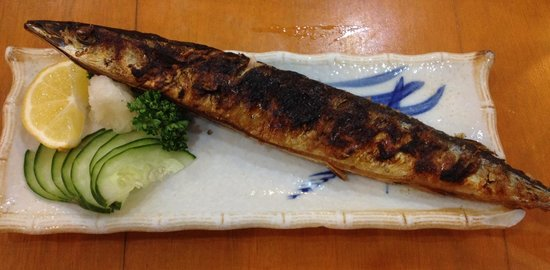 Niji Japanese Restaurant: Grilled mackerel... Ummm!