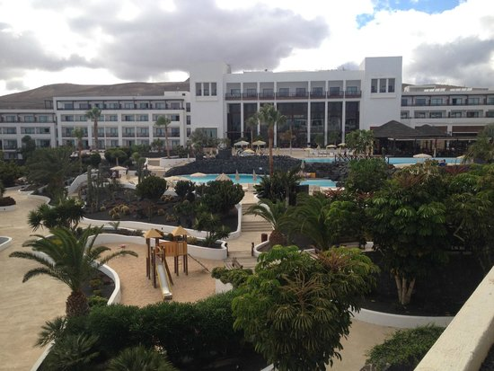 Hesperia Lanzarote : view of Hotel from Balcony