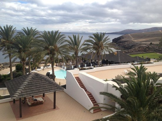 Hesperia Lanzarote: View from our balcony