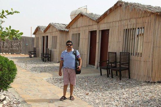 The Turtle Beach Resort (Ras al Hadd) : Hut shape rooms