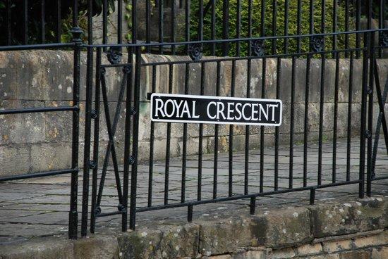 Royal Crescent: Королевский полумесяц
