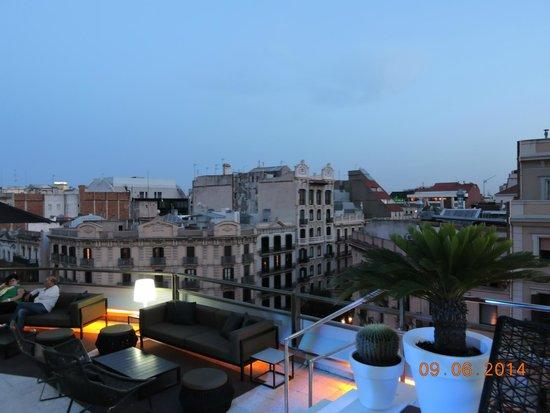 Hotel Claris : Vista do terraço