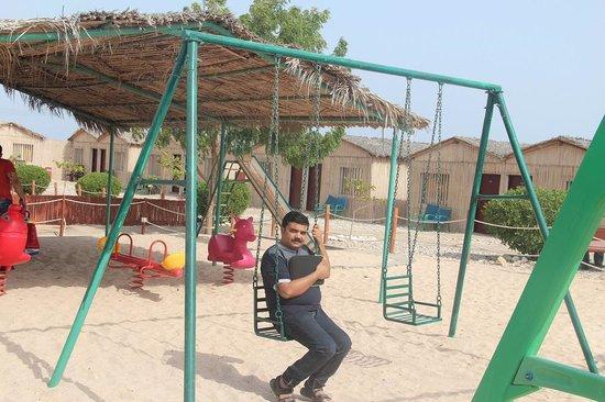The Turtle Beach Resort (Ras al Hadd) : Children play area