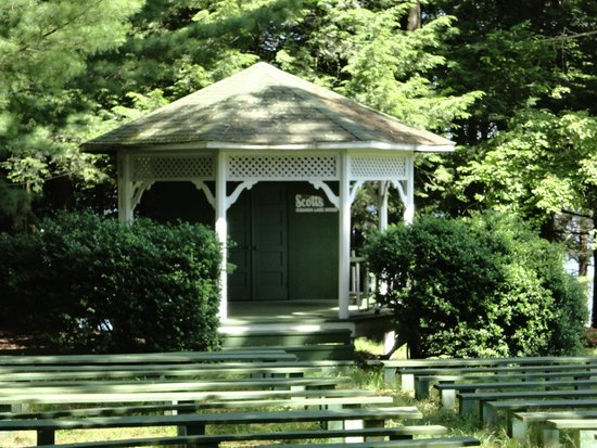 Scott's Family Resort : Gazebo