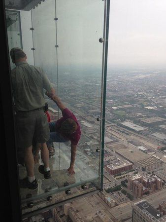 Skydeck Chicago - Willis Tower : Al